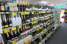 Extensive selection of wine, beer & ciders - including chilled