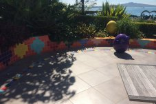 Buchan Construction Whitianga paved landscape area