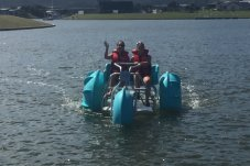 Whitianga Water Bikes fun on the water