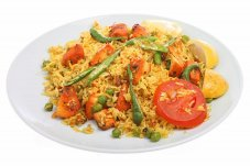 Chicken Tikka Biryana from Hurry 4 Curry Whitianga