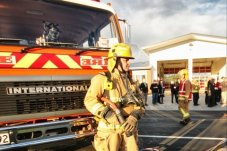 Whitianga Fire Volunteer by Vaughan Grigsby
