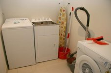 Oceans Resort self contained apartment laundry