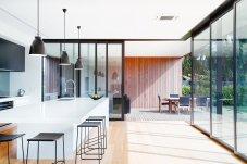 Architectural corner stacker