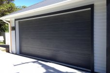 Fineline sectional garage door by Doors 2000 Coromandel Ltd