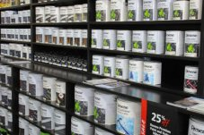 Resene paints and test pots available at Fagans Whitianga
