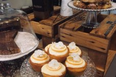 Lemon syrup cupcakes he French Fig - Wedding & Function Catering Whitianga Coromandel Peninsula