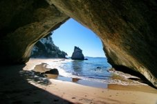 Cathedral Cove, Coromandel, New Zealand Beach