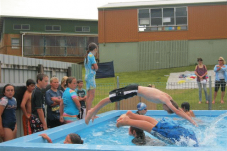 Te Rerenga School swimming