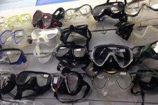 Snorkel Masks at Whitianga sports