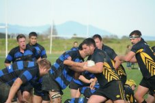 Mercury Bay Rugby Club in action