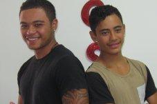 Teenager haircuts at Mercury Bay Barber Shop Whitianga