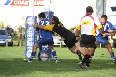Mercury Bay Rugby Club defending