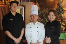 Our friendly chef and staff at authentic Thai Restaurant - The House of Chang Thai in Whitianga