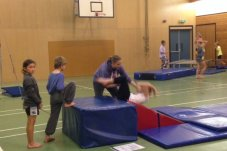 Mercury Bay Gymnastics Club Whitianga backwards roll