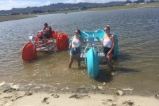 Whitianga Water Bikes things to do with the kids