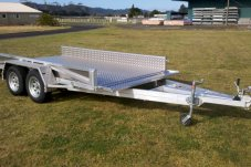 Trailer designed and manufactured by Alipro Engineering Whitianga