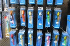Fishing tackle at Longshore Marine Whitianga
