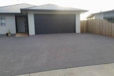 Plain Concrete driveway Whitianga Concrete Ltd