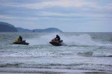 Matarangi Beach Summer Festival jet ski racing