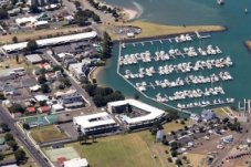 Whitinaga Marina in central Whitianga