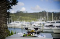 Dining by the Marina at Salt