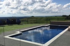 Venice Swimmng Pool offers unobstructed swim area with generous side seating and good depth. The perfect pool for lap swimming, play and entertainment. Chops Landscaping and Swimming Pools Coromandel Peninsula