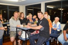 Club house gathering Mercury Bay Game Fishing Club Whitianga