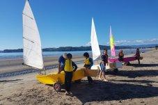 centrebord and catamaran fleets Mercury Bay Boating Club