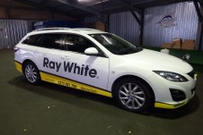 Ray White Vehicle