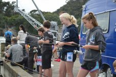 children's fishing competition whitianga