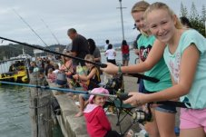kids fishing competition Whitianga