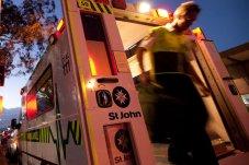 St John Ambulance evening shot