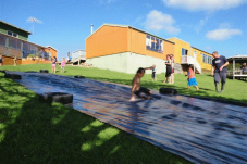 Te Rerenga school slide