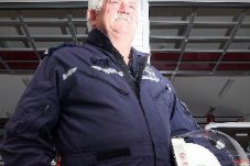 Whitianga Fire Station Chief Fire Offier Merv George