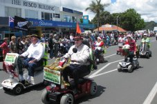 Whitianga Santa Parade Scooters