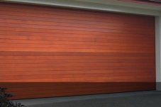 Cedar Sectional Garage Door by Doors 2000 Coromandel