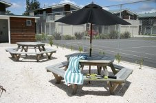 recreational areas at Oceans Resort Whitianga