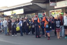 Crowds Gold Rush Rally Whitianga