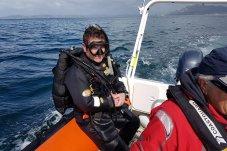 Whitianga Volunteer Coastguard diving exercise