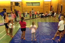 Mercury Bay Gymnastics Club Whitianga Floor Exercises