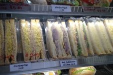 Fresh sandwiches Bay Bakery Whitianga