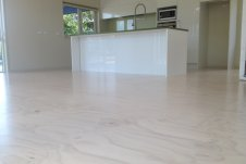 Blonded Ply Floor Whitianga