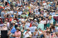 Whitianga Summer Concert crowd enjoying the day