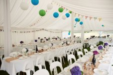 Marquee decoration options