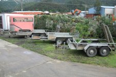 Trailors for hire Peninsula Hire Whitianga