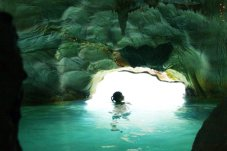 The Lost Spring day spa and hot pools across the road from The Palms Whitianga