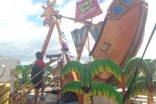 Pirate ship ride 2017 Seaside Carnival