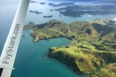 Early morning flight Coromandel to Ardmore with FlyStark Airlines