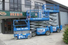 Peninsula Hire Whitianga - scissor lifts