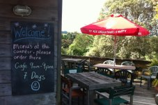 Welcome to the Castle Rock Cafe on the Coromandel Peninsula